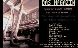 Das Magazin Atari ST Title screen