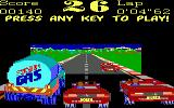Turbo Champions DOS Demo/attract mode (EGA, Tandy)