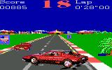 Turbo Champions DOS Spinning wildly to a full stop (EGA, Tandy)