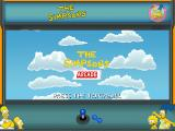 The Simpsons Arcade BlackBerry Title screen