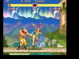 Super Street Fighter II FM Towns Cammy is tough, and not distracted by the view