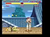 Super Street Fighter II FM Towns Again the famous Ken vs. Ryu match-up - this time in Japan. How are you feeling, Ken? Had too much sushi? Hehehe...
