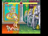 Super Street Fighter II FM Towns Ouch. This is not the way to treat a woman, Dhalsim. What would Ganesha say?..