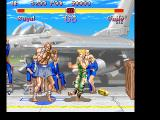 Super Street Fighter II FM Towns I'll beat you up and catch the plane!
