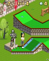 Mini Golf Castles J2ME Right timing is needed here so the sword is out of the way