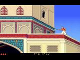 Prince of Persia 2: The Shadow & The Flame FM Towns Swordfighting on the roofs
