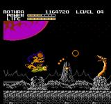 Godzilla: Monster of Monsters NES There are Volcanos on mars!