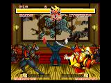 Samurai Shodown FM Towns Lovely room - perfect for a ninja encounter!