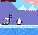 Taz-Mania Game Gear Snow-Taz and fan