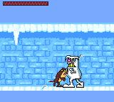 Taz-Mania Game Gear Boss fight against some kind of yeti