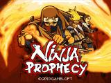 Ninja Prophecy J2ME Title screen