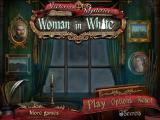 Victorian Mysteries: Woman in White iPad Title / main menu