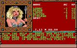 Treasures of the Savage Frontier Amiga The demo talks about the characters you'll meet.