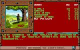 Treasures of the Savage Frontier Amiga Starting a new game.