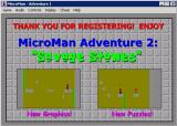 The Adventures of MicroMan Windows Adventure 1: title/splash screen 2.