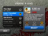 Zombie Highway iPad Choose a level