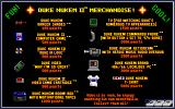 "Duke Nukem II DOS ""Why I'm so great"": Duke collects his own merchandise in game..."