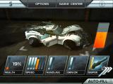 Death Rally iPad Spend your earned money on repairs and upgrades