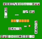 Professional Mahjong Gokū NES A game in progress