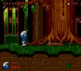 The Smurfs SEGA CD Now in the forest