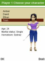 3D Mini Golf: Castles J2ME Character selection