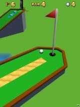 3D Mini Golf: Castles J2ME Close to finish the 6th hole