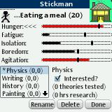 "Two-Inch Town Palm OS Status of ""Stickman"""