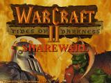 Warcraft II: Tides of Darkness (Demo Version) DOS The demo uses an early version of the title screen with a different background colour.