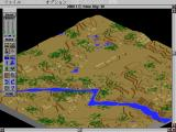 SimCity 2000 FM Towns Starting with a barren wasteland