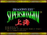 Shanghai II: Dragon's Eye FM Towns Title screen