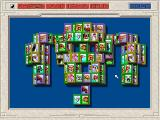 Shanghai II: Dragon's Eye FM Towns Rat layout with animals