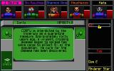 MegaTraveller 2: Quest for the Ancients DOS Access The Databanks