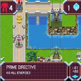 Transformers G1: Awakening J2ME Map graphics of a 2D version
