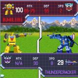 Transformers G1: Awakening J2ME Combat - Bumblebee vs Thundercracker, who is actually in his plane mode (2D version)