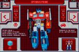 Transformers G1: Awakening Android Character stats - Optimus Prime