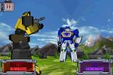 Transformers G1: Awakening Android Combat sequence - Bumblebee against Soundwave