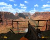 Black Mesa Windows The desert looks really astonishing in contrast with all the indoor labs