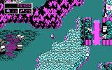 Commander Keen 4: Secret of the Oracle DOS World map - a bird's eye view of the Shadowlands (CGA)