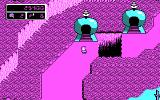 Commander Keen: Aliens Ate My Babysitter! DOS Map: sauntering through Fribbulus Xax (CGA)