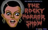The Rocky Horror Show Commodore 128 Title screen
