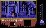 The Rocky Horror Show Commodore 128 Entering the castle