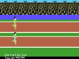 The Activision Decathlon ColecoVision Title screen