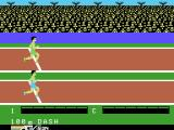 The Activision Decathlon ColecoVision Getting ready for the 100m dash