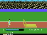 The Activision Decathlon ColecoVision The high jump