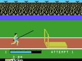 The Activision Decathlon ColecoVision Pole vaulting