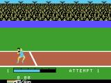The Activision Decathlon ColecoVision The shot put