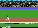 The Activision Decathlon ColecoVision Throwing the discus