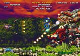 Blazing Star Neo Geo First boss.