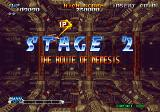 Blazing Star Neo Geo Stage 2. The route of nemesis.