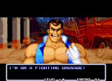 Aggressors of Dark Kombat Neo Geo He's on a fighting crusade.